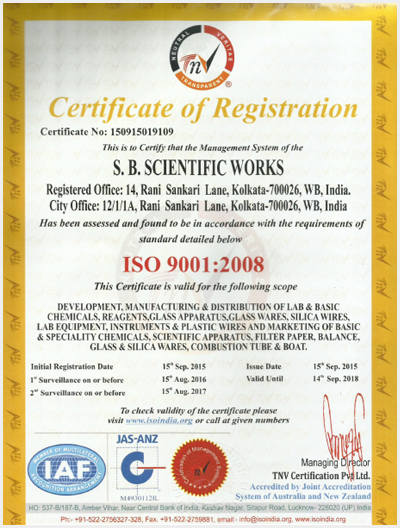 Welcome to S B  Scientific Works